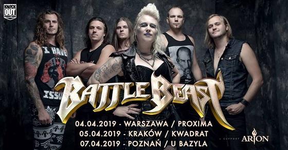 Battle Beast Poznan