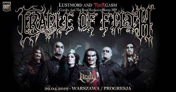 Cradle of Filth Warszawa